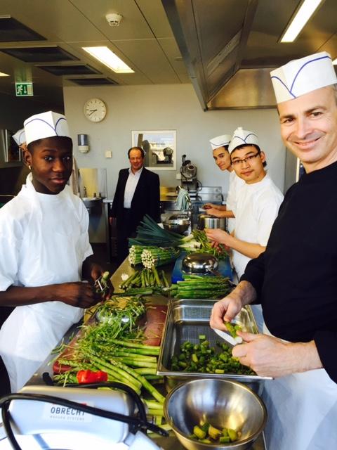 A la d couverte de nos ateliers tem pisode 3 for Atelier cuisine vevey
