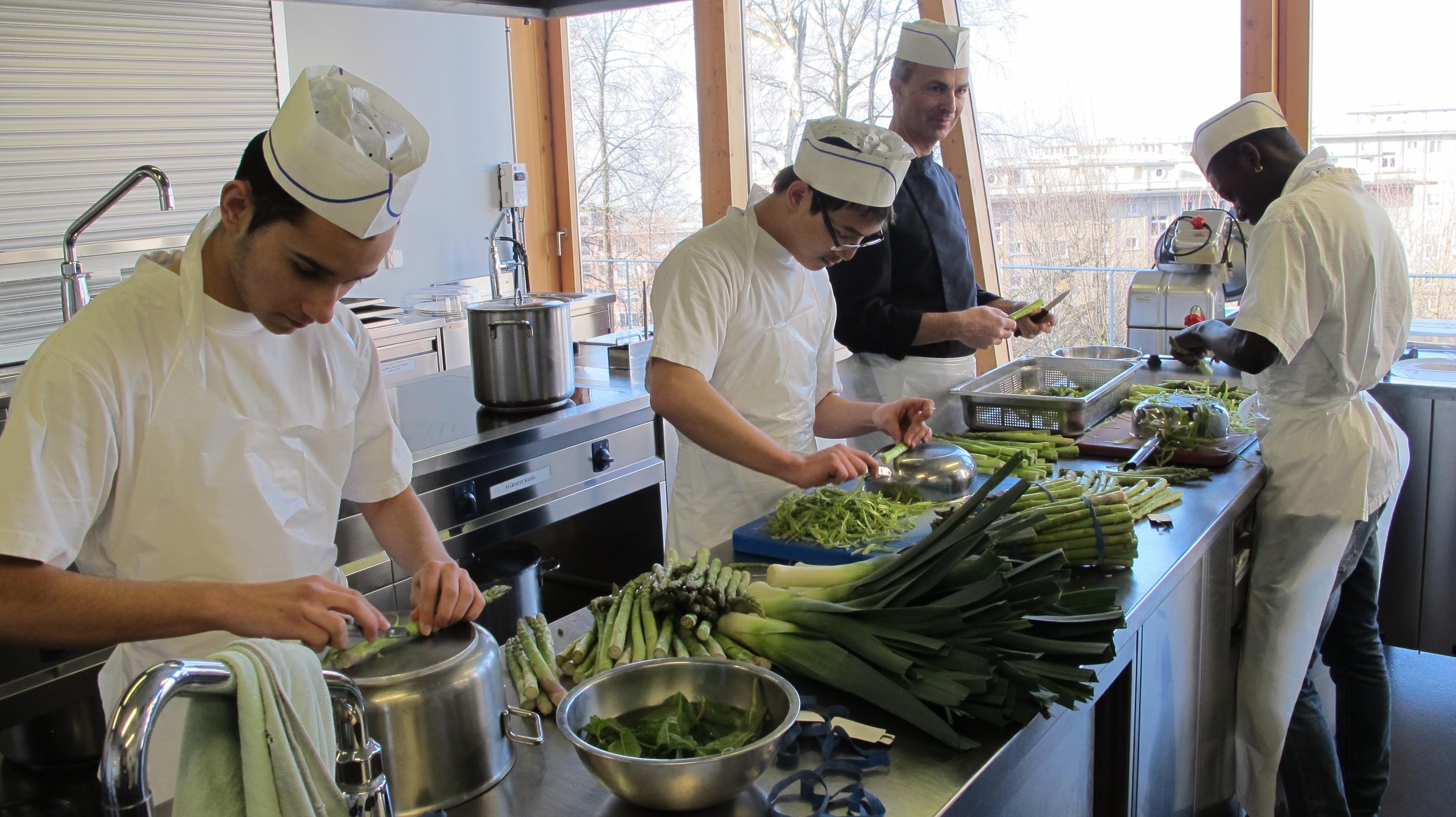 A la d couverte de nos ateliers tem pisode 3 for Atelier cuisine lausanne